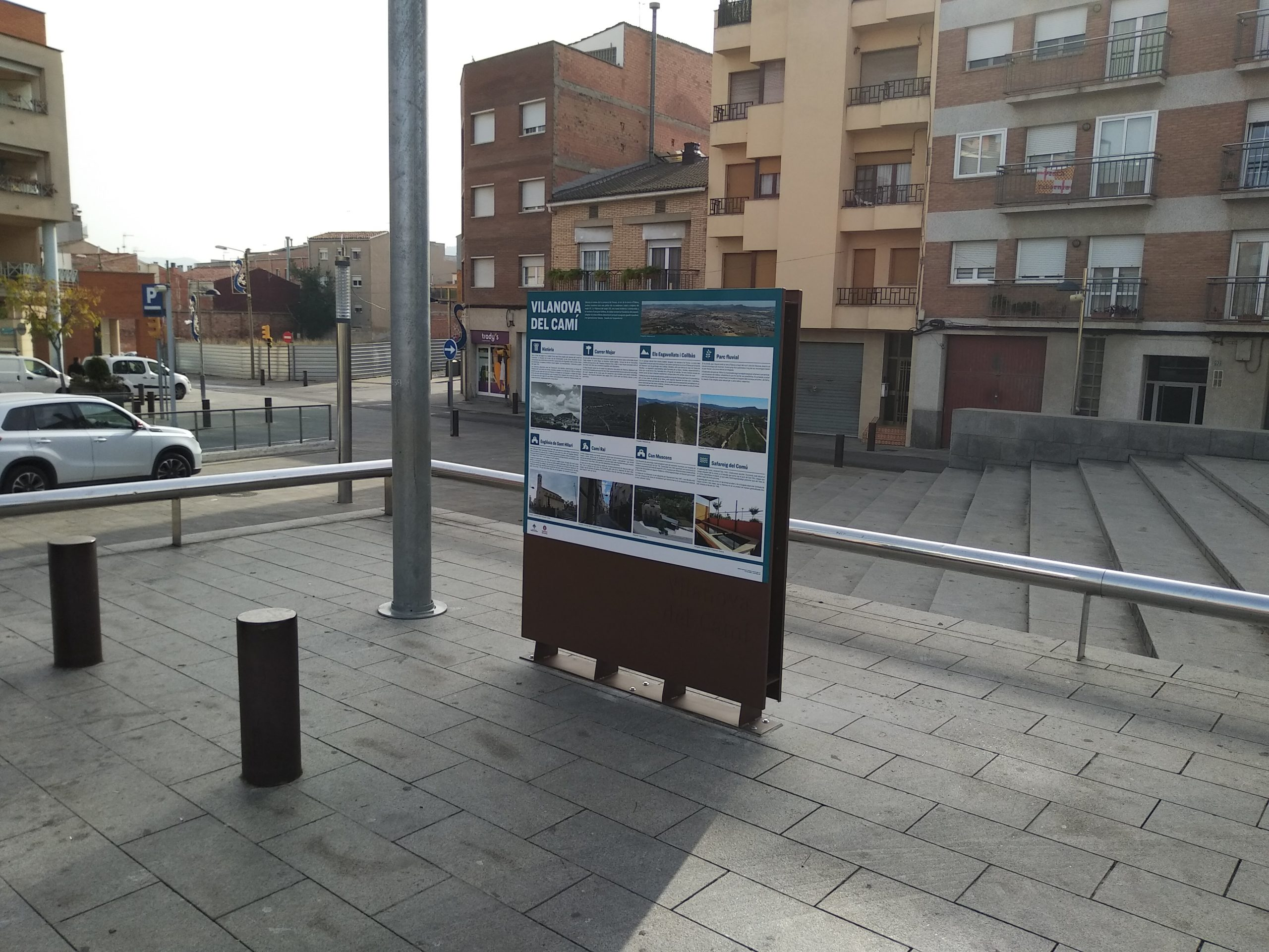 Señalización Vilanova del Camí