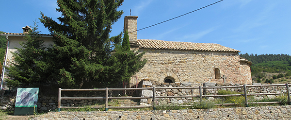 Señalización Castell de l' Areny - Fígols