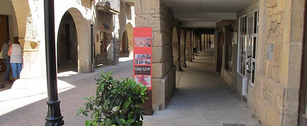 Señalización turística en Juneda